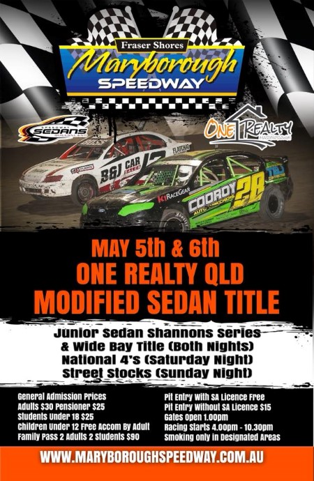 Speedway News   Maryborough Speedway